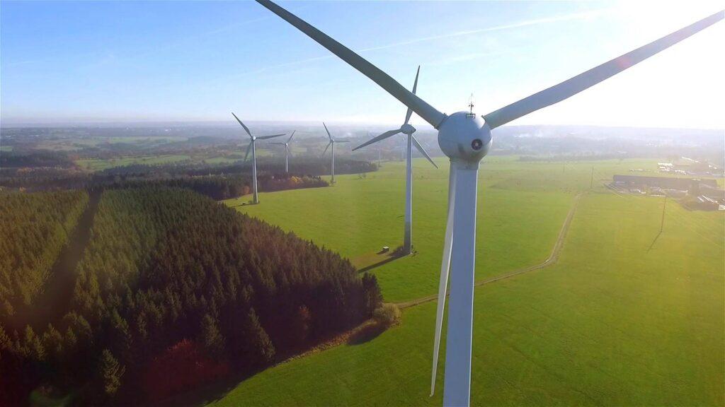 Image of windmills